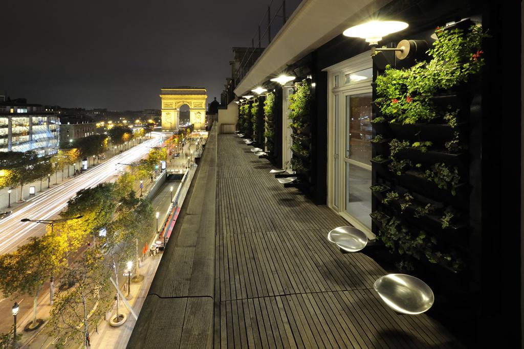 Le Septième - Terrasse de nuit