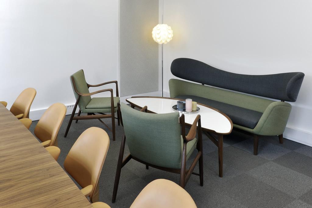Salle de réunion VIP - Le coin détente