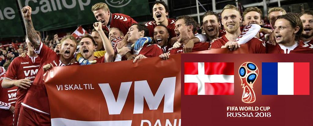 Live broadcast Denmark-France