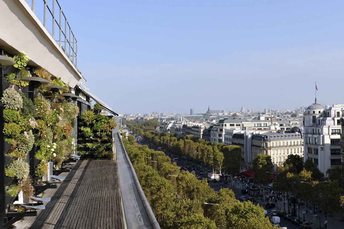 Balcon Septième Concorde Jour
