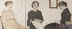 Vilhelm Hammershøi intime