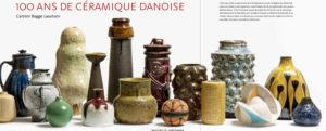 Revue de presse  céramique danoise