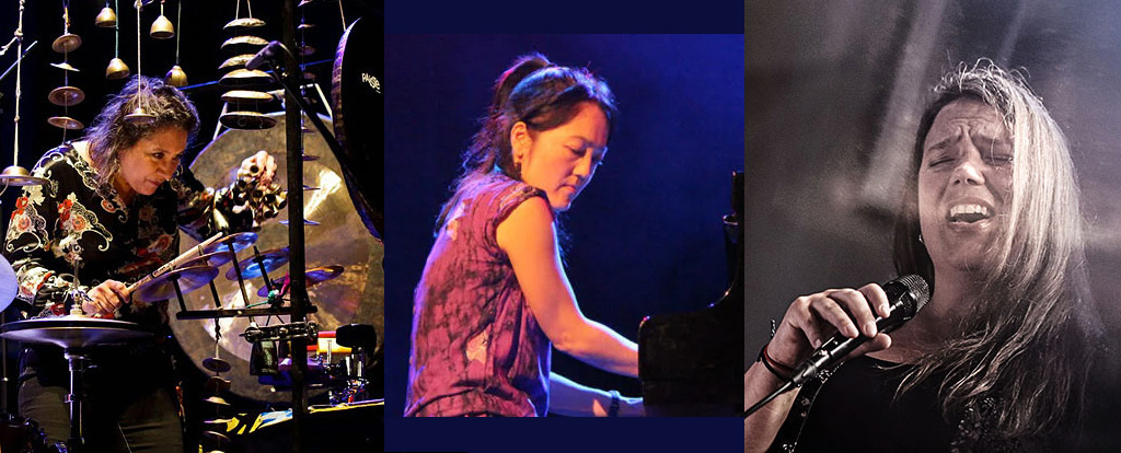 Marilyn Mazur Trio with Josefine Cronholm and Makiko Hirabaysashi